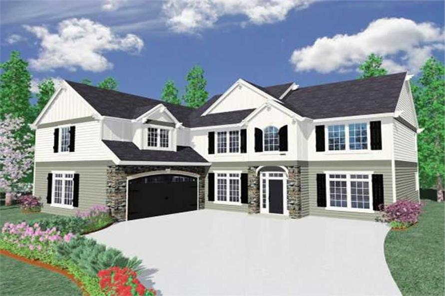 Main image for house plan # 16698