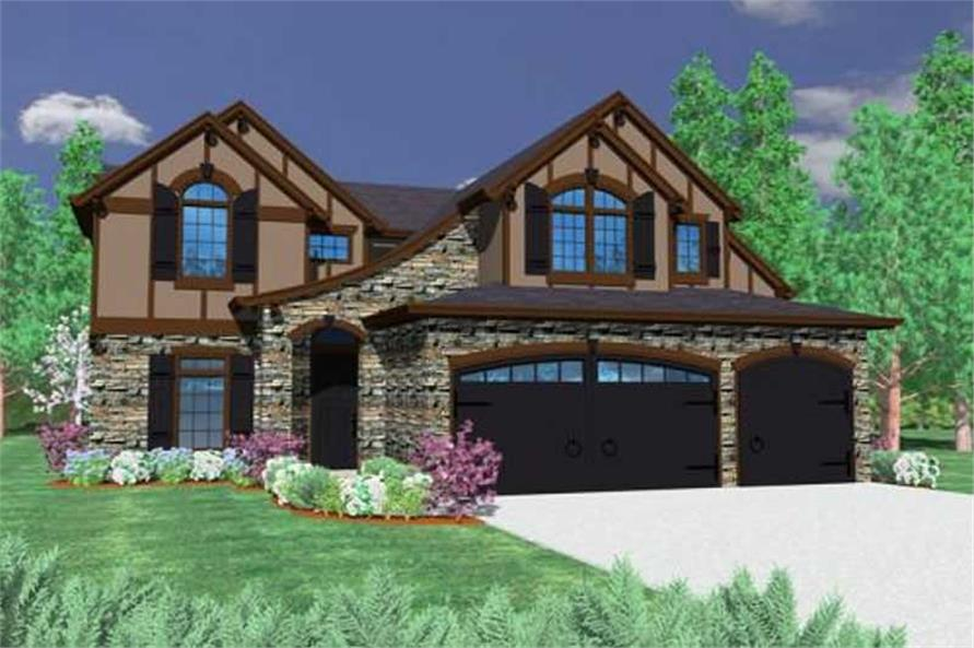 Main image for house plan # 16701