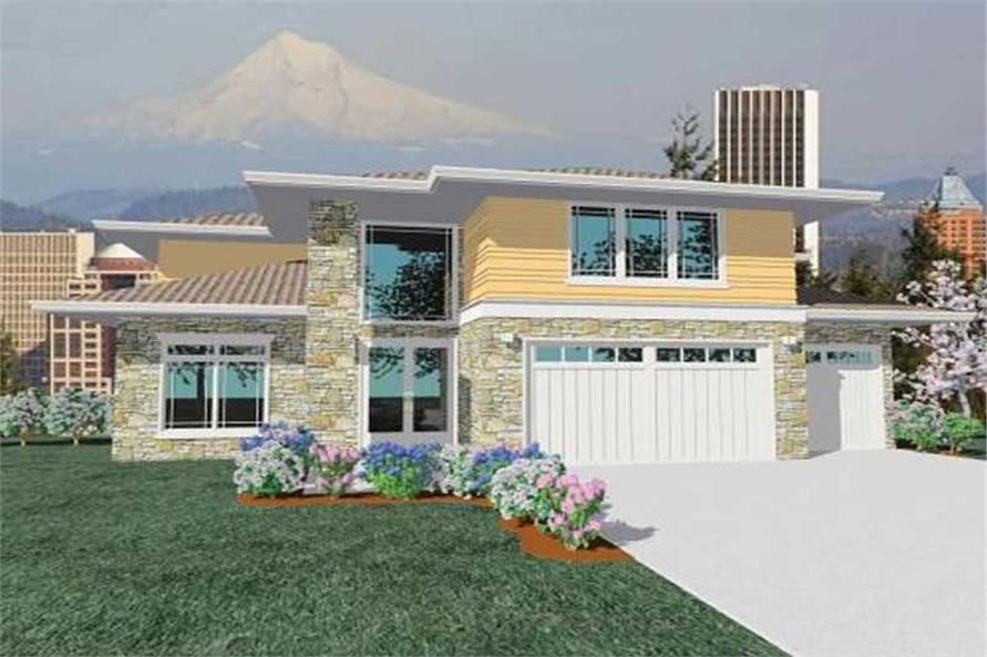 Main image for house plan # 16724
