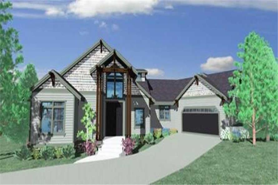 Main image for house plan # 16703