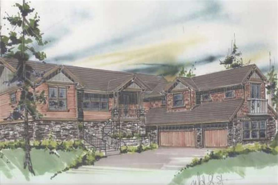 Main image for house plan # 16687