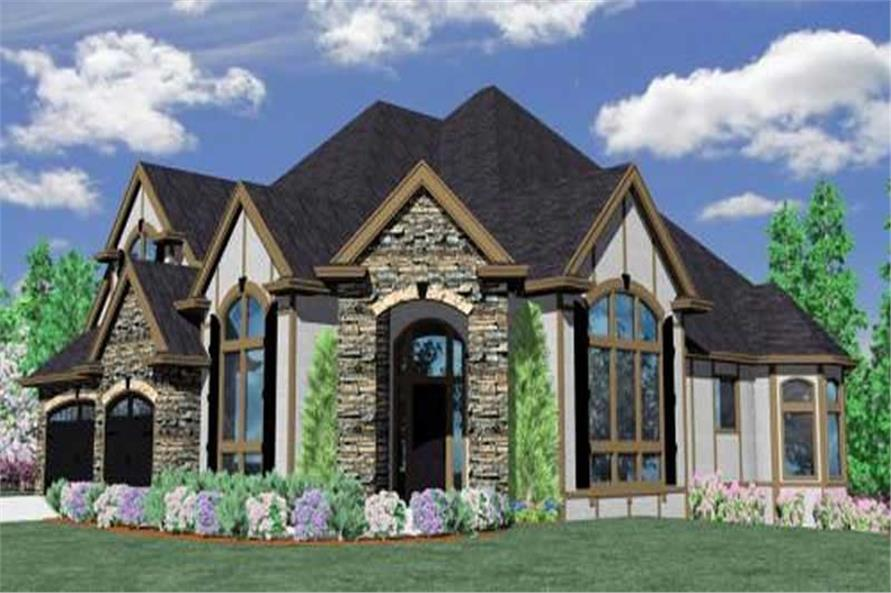 Main image for house plan # 16710