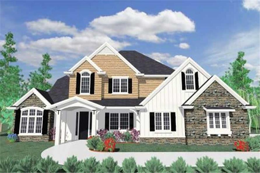 Main image for house plan # 16709