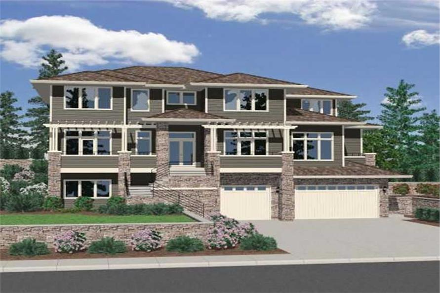 Main image for house plan # 16711