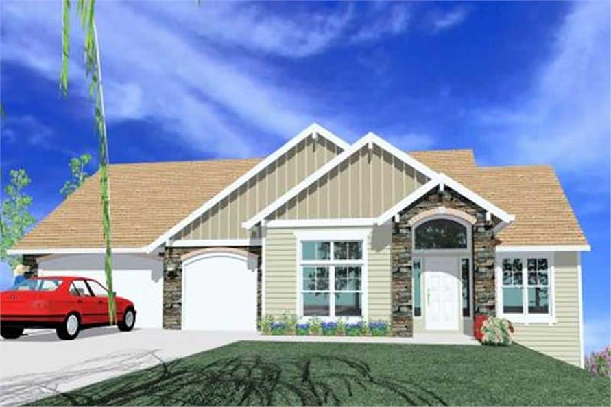 Main image for house plan # 16692