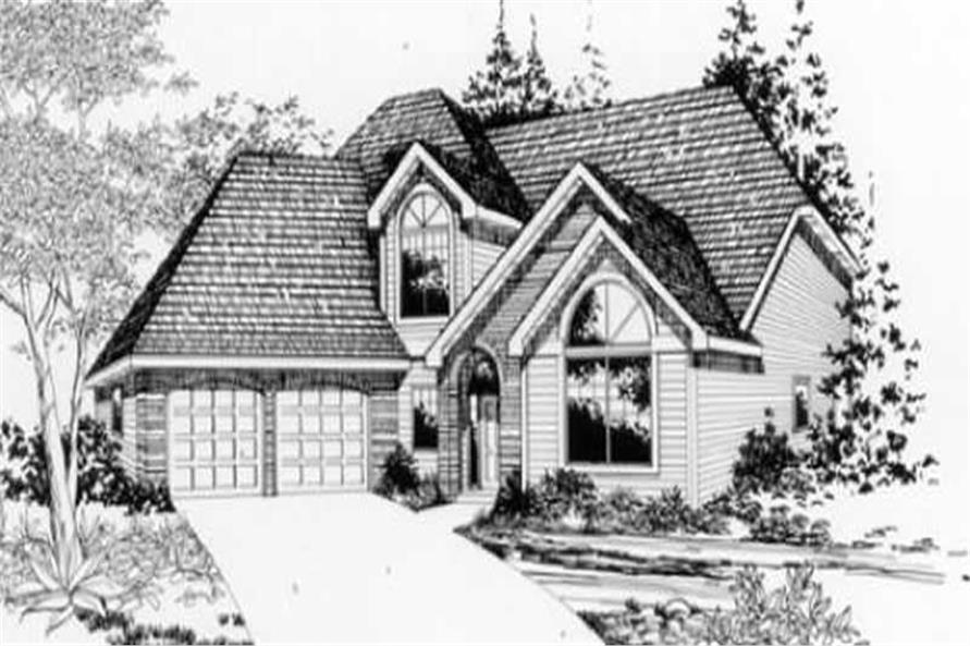 This image shows the traditional style of the home.