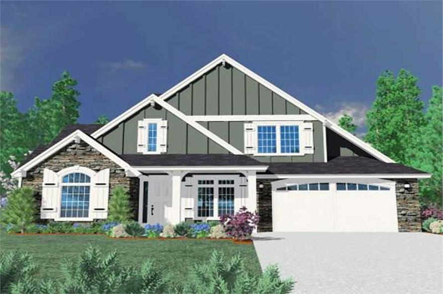 Main image for house plan # 16695