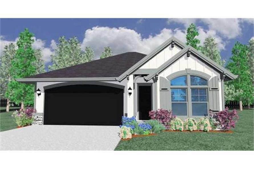 149-1098: Home Plan Rendering