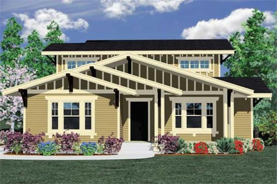 Main image for house plan # 16658