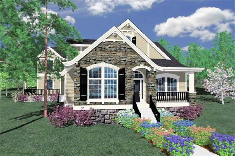 Main image for house plan # 16652