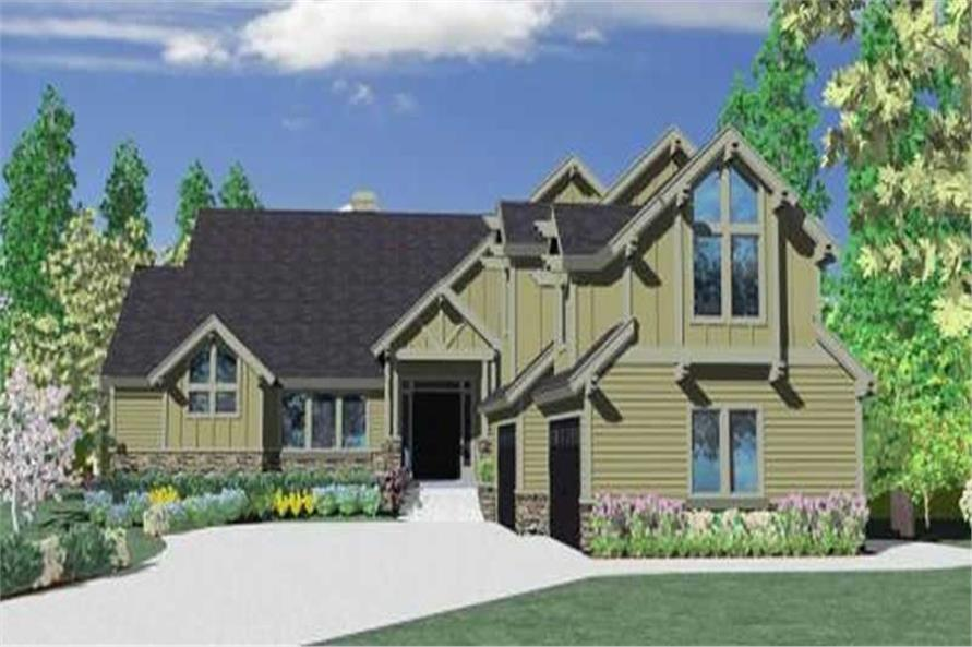 Main image for house plan # 16733
