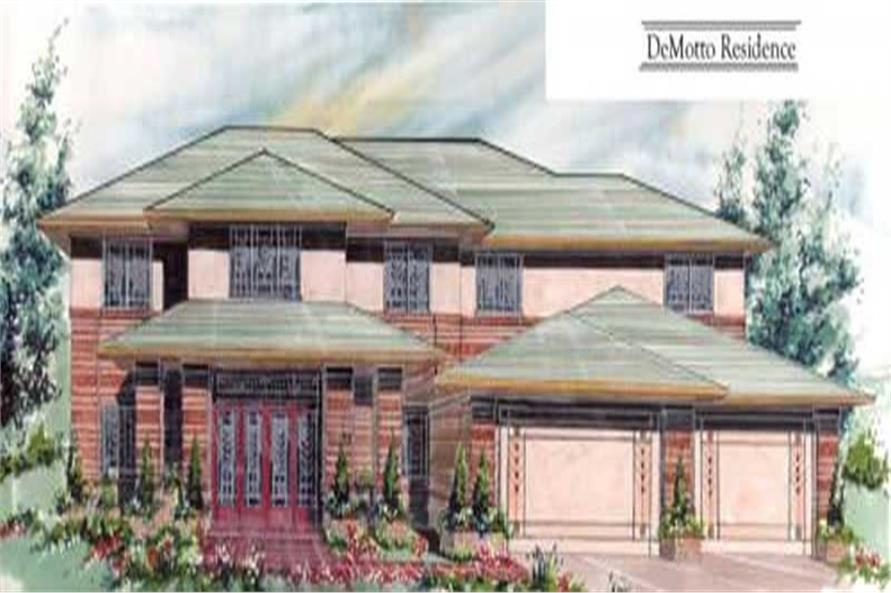 Main image for house plan # 16737