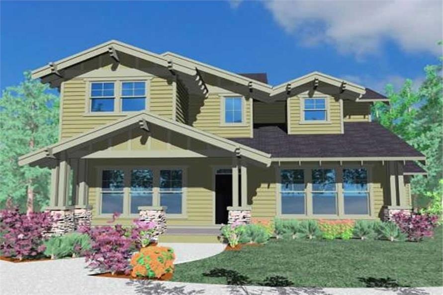 Main image for house plan # 16670
