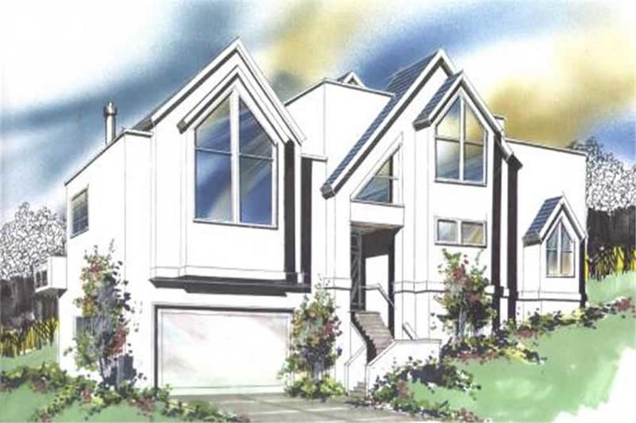 Main image for house plan # 16671