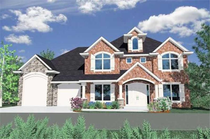 Main image for house plan # 16722