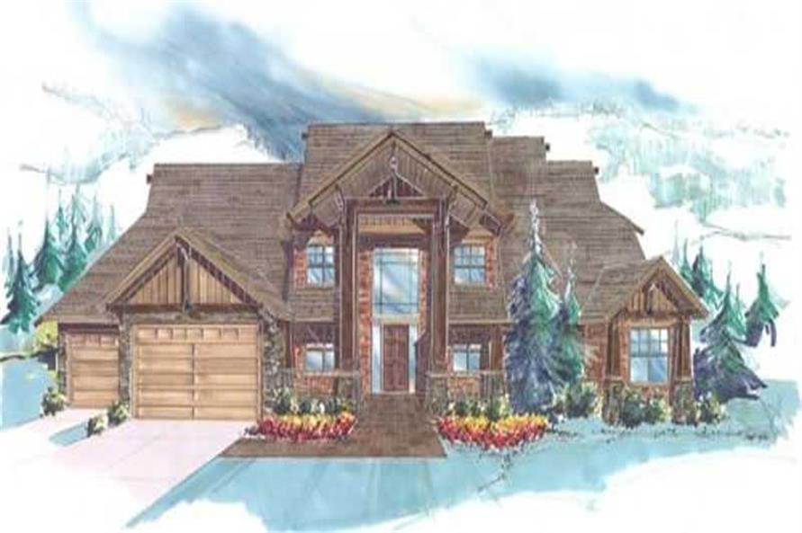 Main image for luxury house plan # 16744