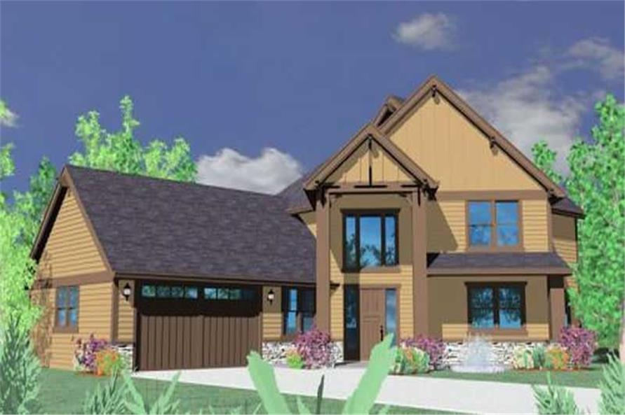Main image for house plan # 16679