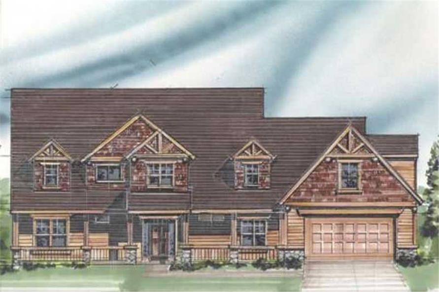 Main image for house plan # 16697