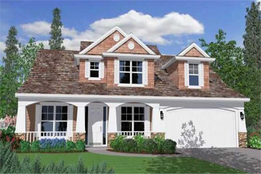 Main image for house plan # 16660