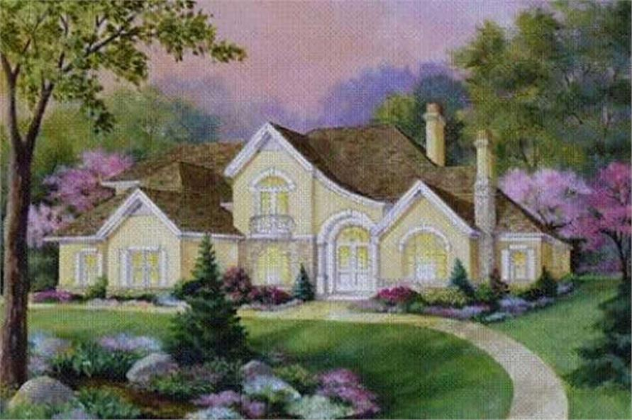Main image for house plan # 16689