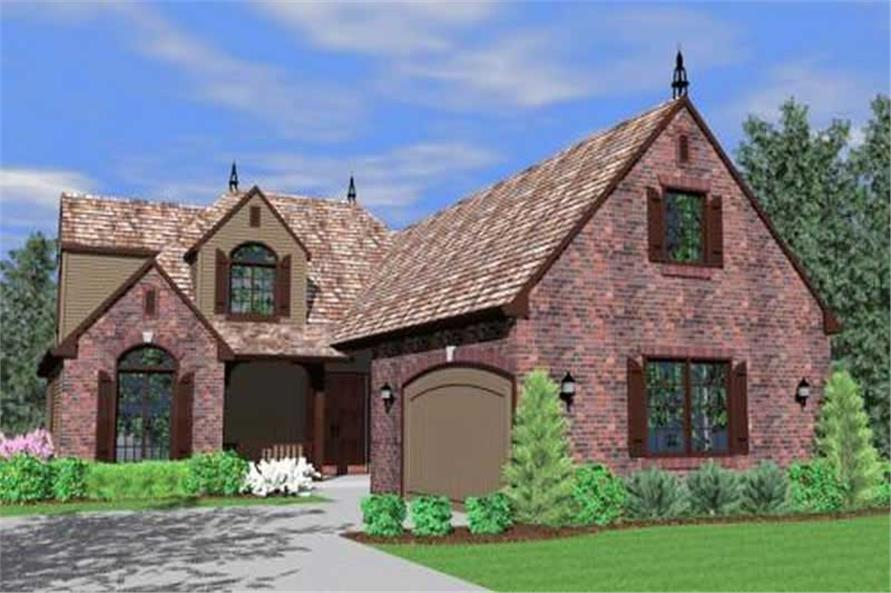 Main image for house plan # 16659