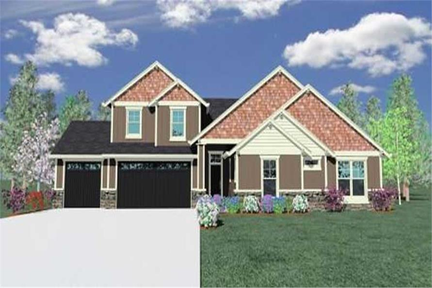 Main image for house plan # 16673
