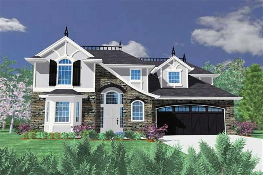 Main image for house plan # 16700