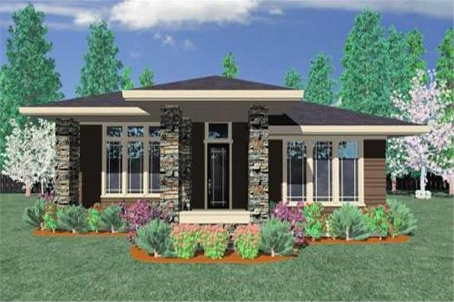 Main image for house plan # 16639