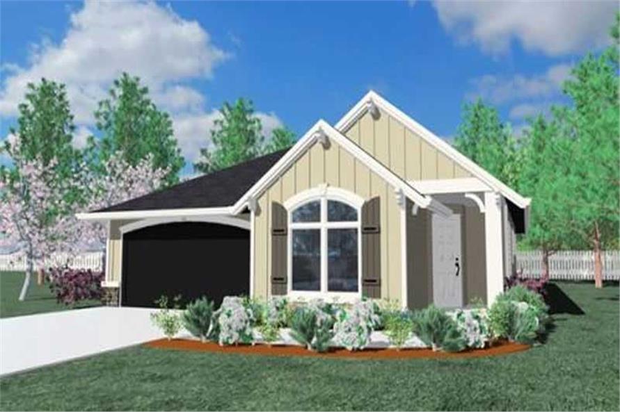Main image for house plan # 16647