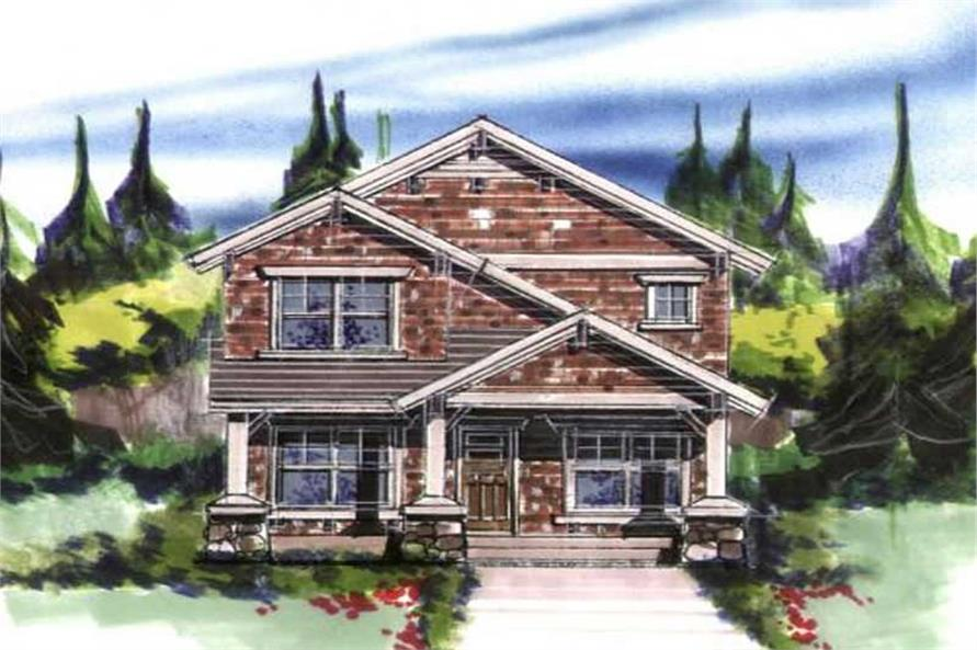 Main image for house plan # 16656