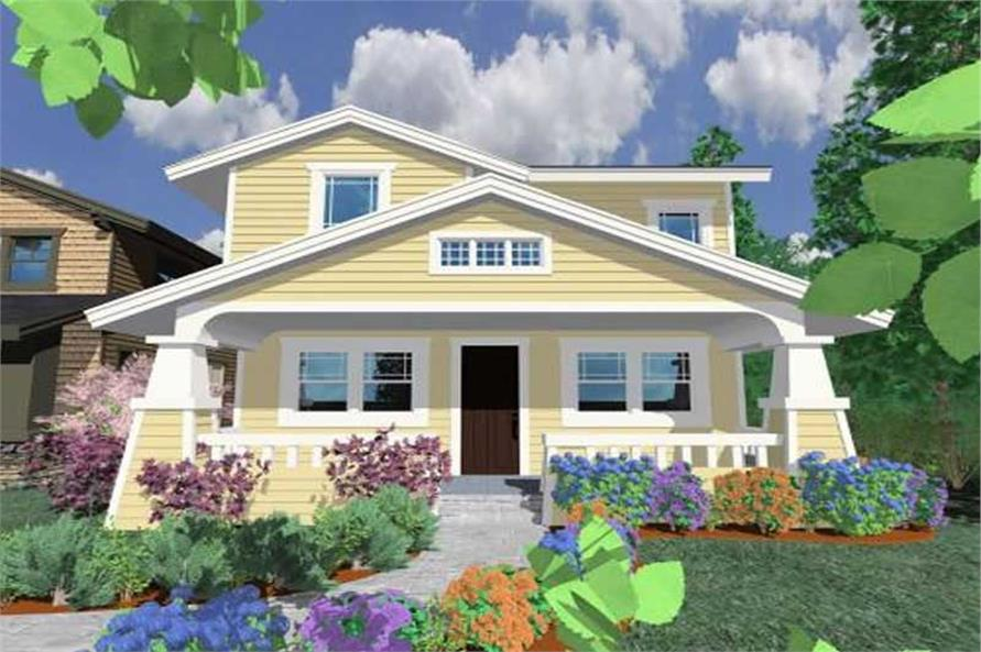 Main image for house plan # 16655