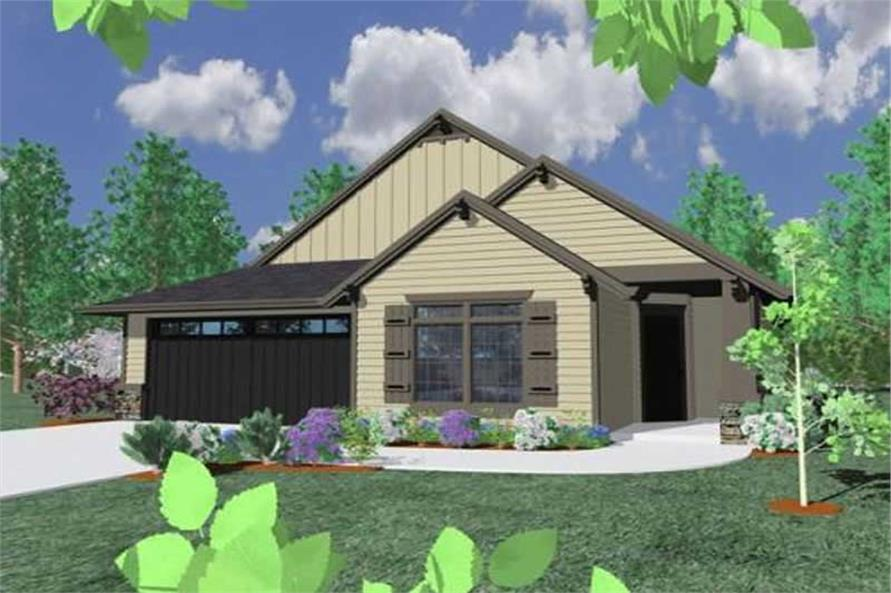 Main image for house plan # 16648