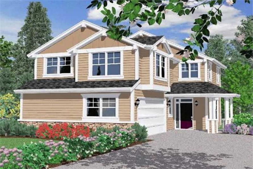 Main image for house plan # 16646