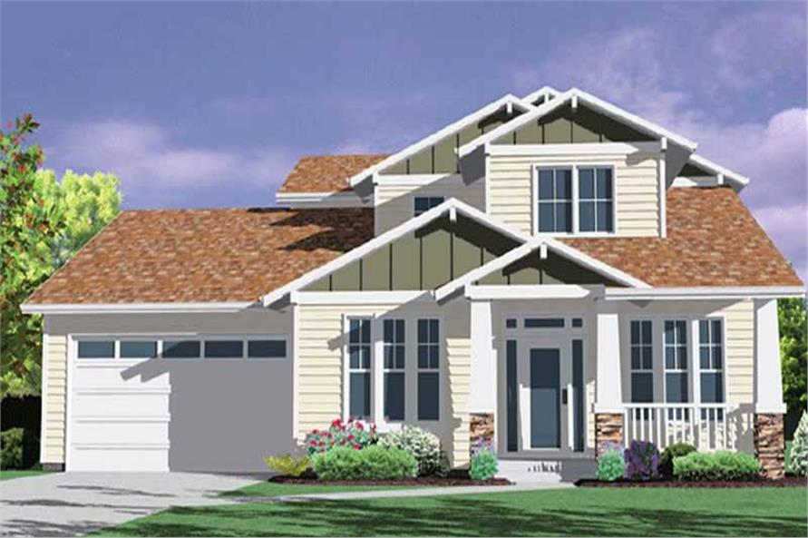 Main image for house plan # 2748