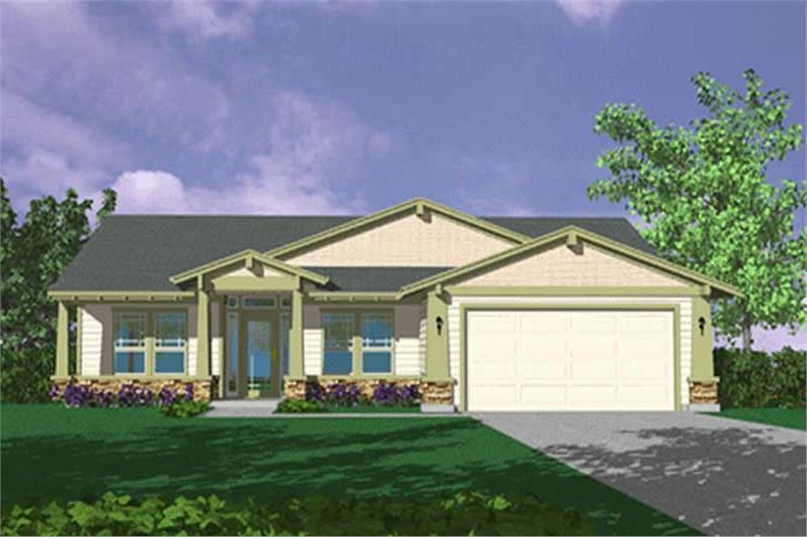 Main image for house plan # 2267