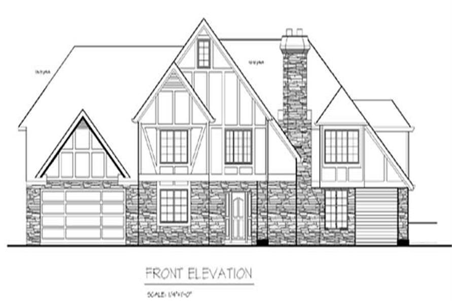 Main image for house plan # 2343