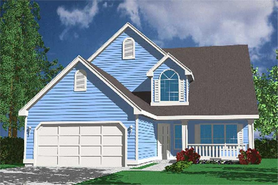 Main image for house plan # 2749