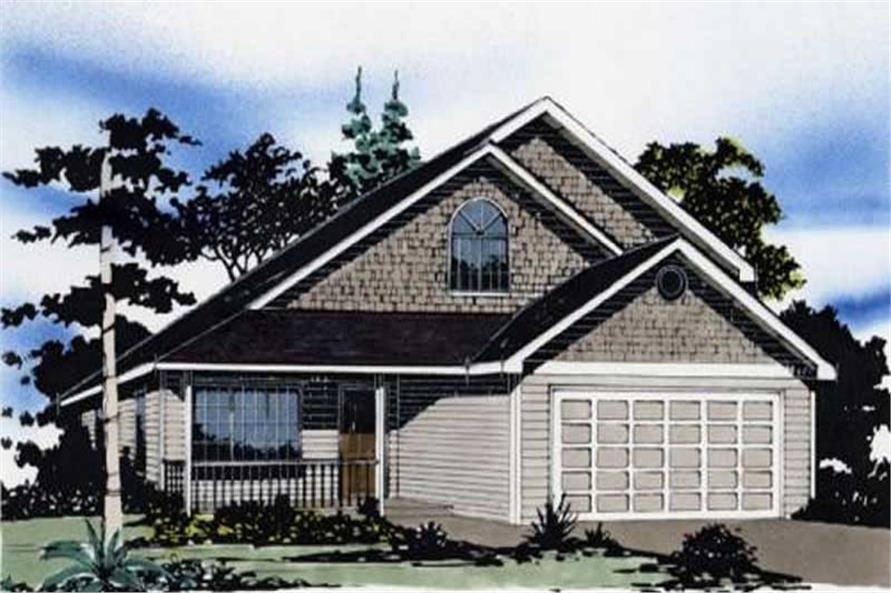 Main image for house plan # 2277