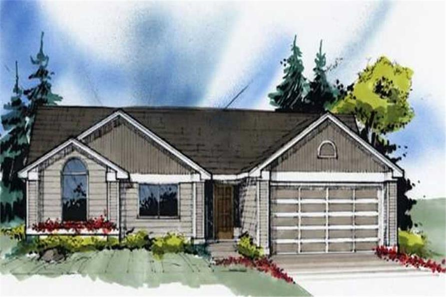 Main image for house plan # 2243