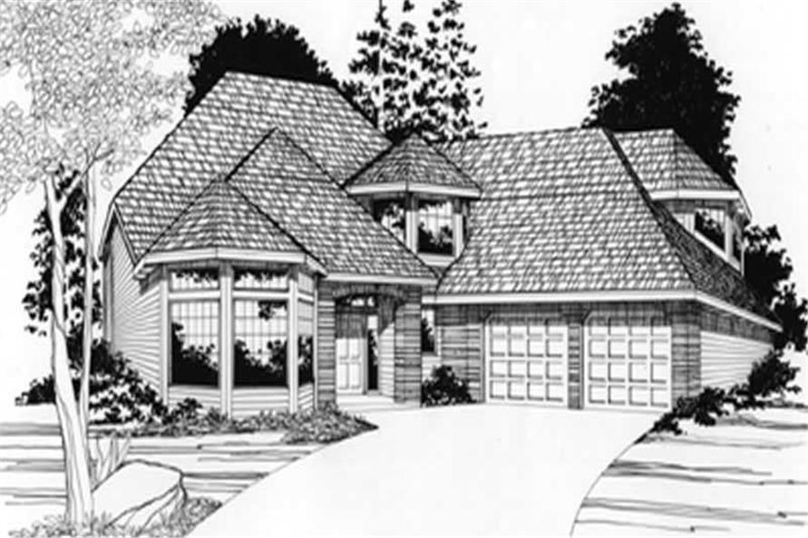 Main image for house plan # 2746