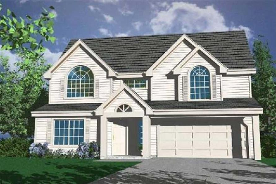 Main image for house plan # 2743