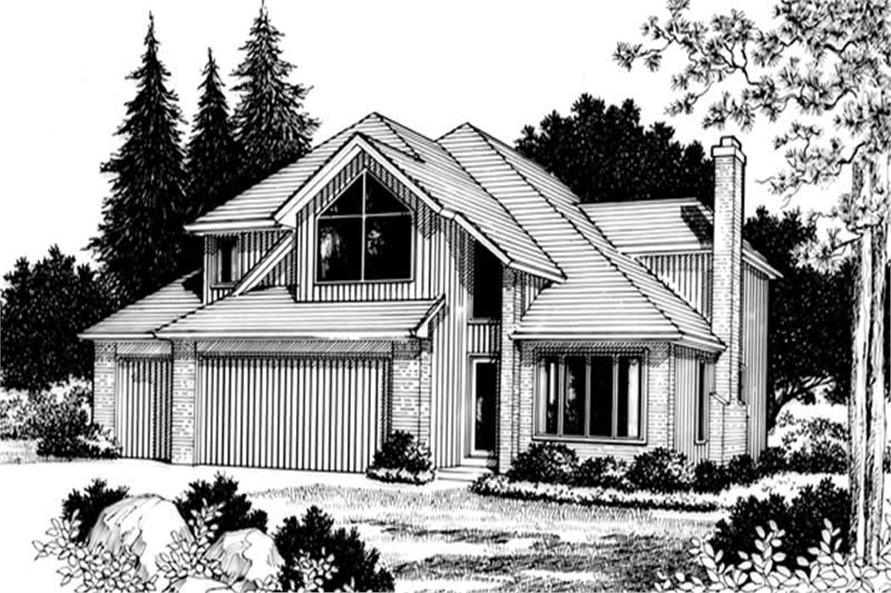 Main image for house plan # 2742