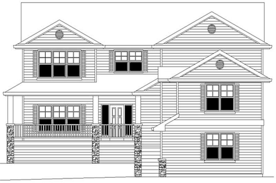 Main image for house plan # 2323