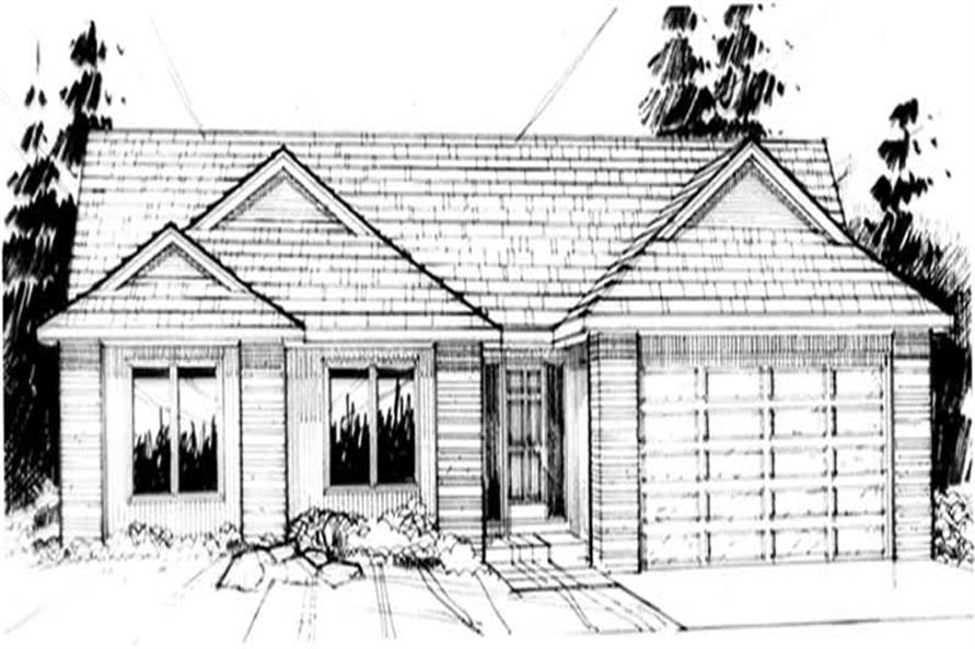 Main image for house plan # 2241