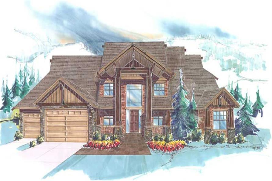 Main image for luxury house plan # 2350