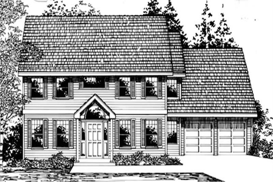 Main image for house plan # 2755