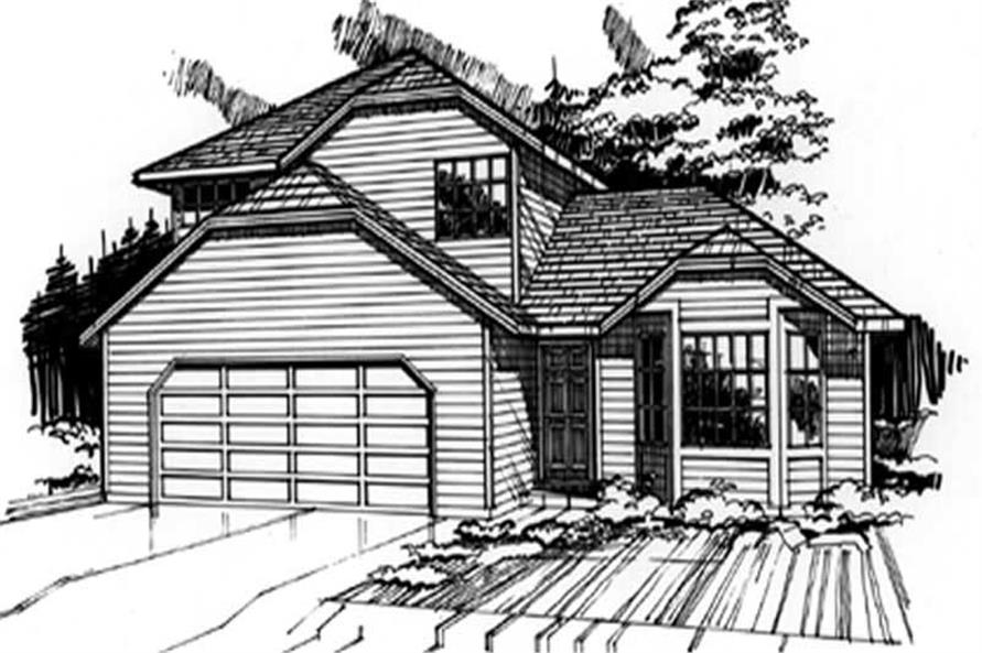 Main image for house plan # 2254