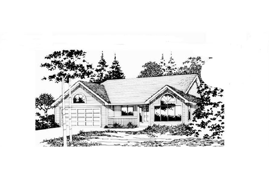 Main image for house plan # 2726