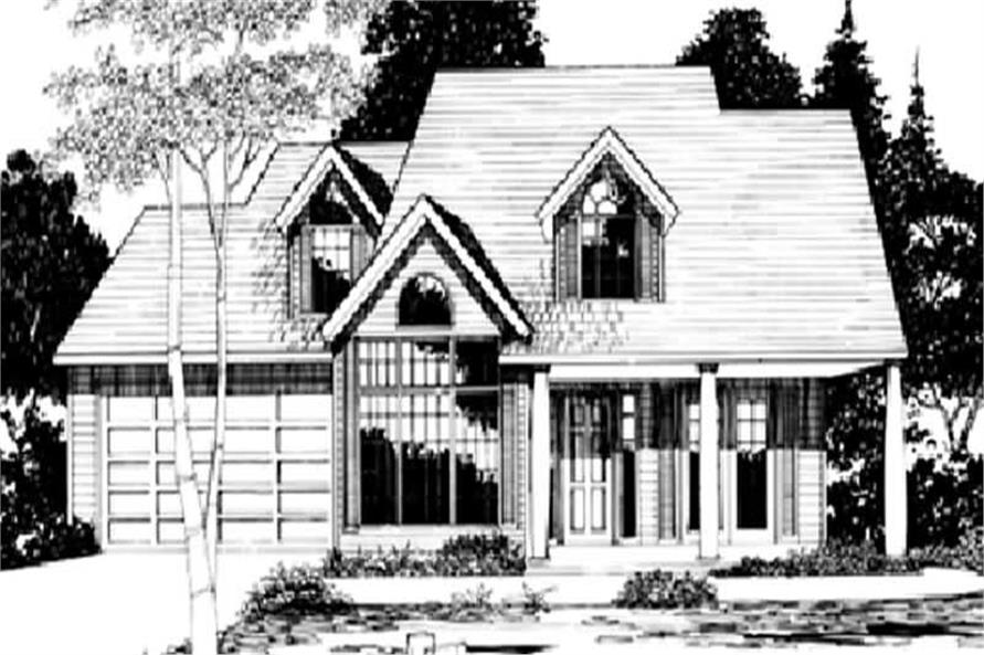 Main image for house plan # 2730