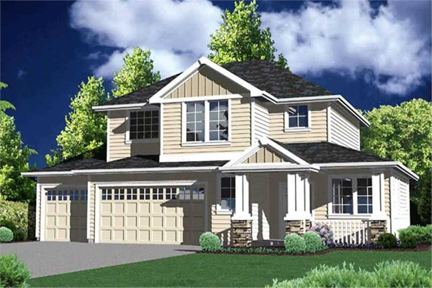 Main image for house plan # 2718